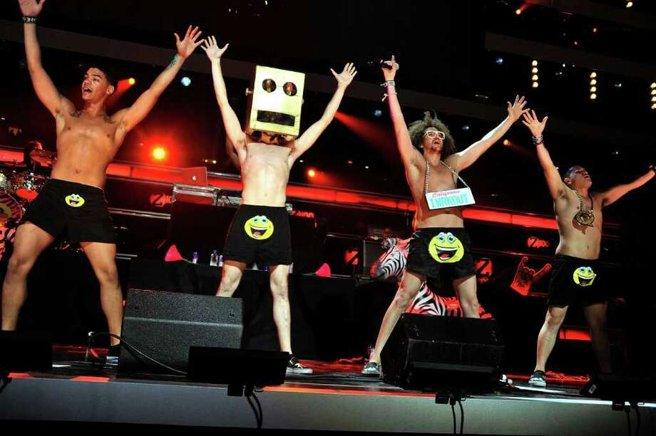 #2 Party Rock Anthem- LMFAO Photo: Stephen Lovekin, Getty Images / 2011 Getty Images