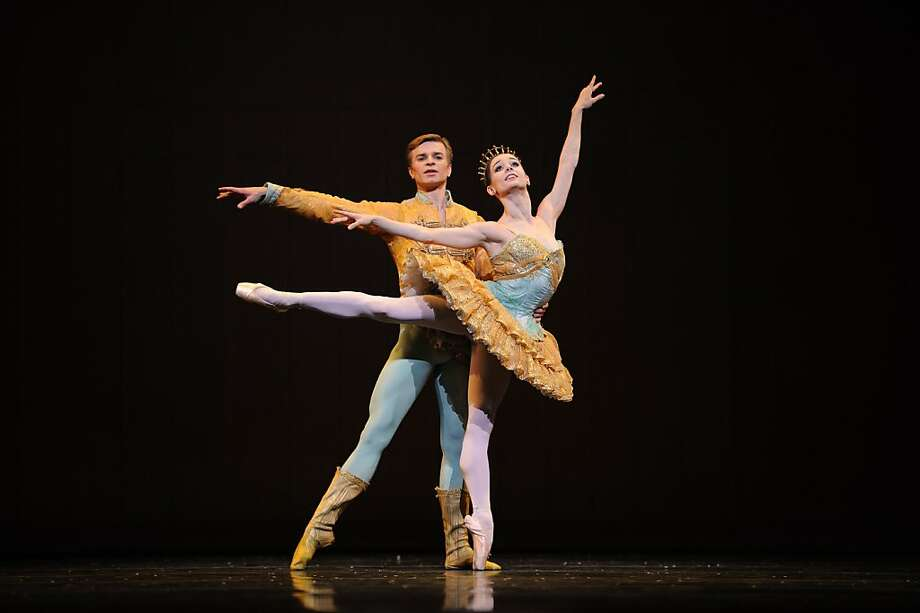Maria Kochetkova and Gennadi Nedvigin in Tomasson's Nutcracker. Photo: Erik Tomasson, San Francisco Ballet