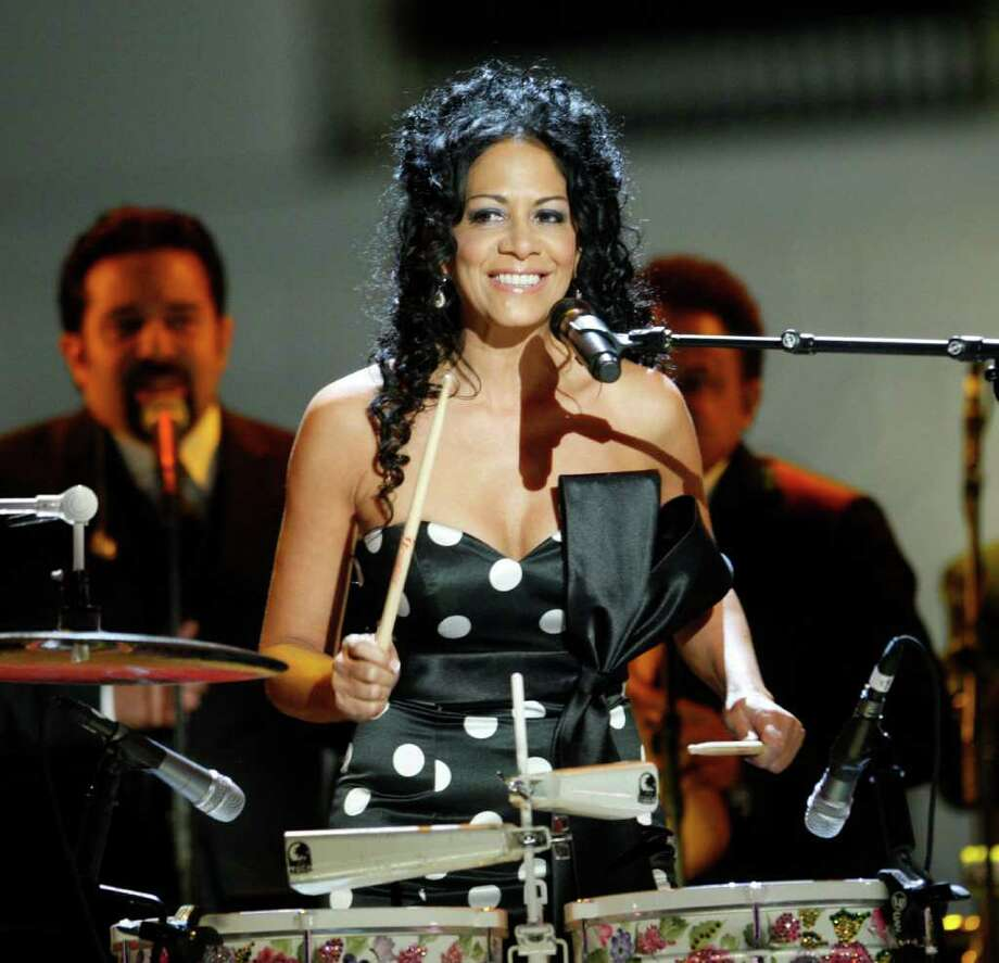 Sheila E. is scheduled to perform at Festival People en Español Sunday night at the Alamodome. Photo: Pablo Martinez Monsivais, AP / AP