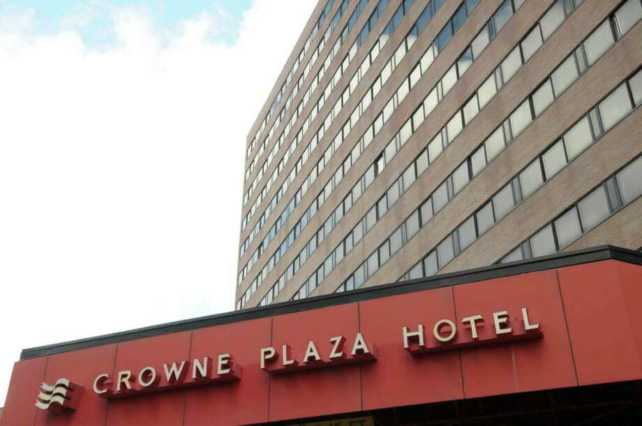 A view of the Crowne Plaza Hotel on Thursday, Dec. 8, 2011.  (Paul Buckowski / Times Union) Photo: Paul Buckowski