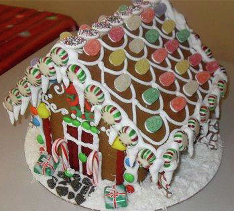 Sweet Cakes in Fairfield offers gingerbread house decorating classes. Photo: Contributed Photo / Fairfield Citizen contributed