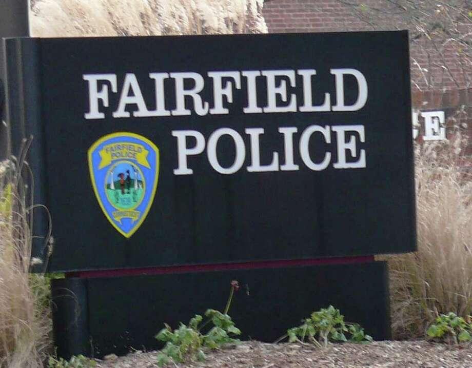 Fairfield Police Department headquarters on Reef Road. Photo: Genevieve Reilly / Fairfield Citizen