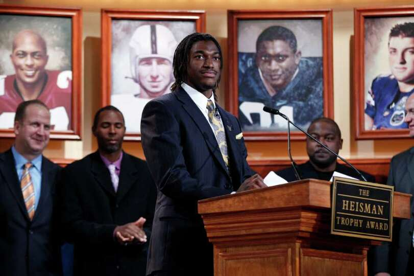 Some fans are willing to pay $800 to watch Heisman Trophy winner Robert Griffin III in action at
