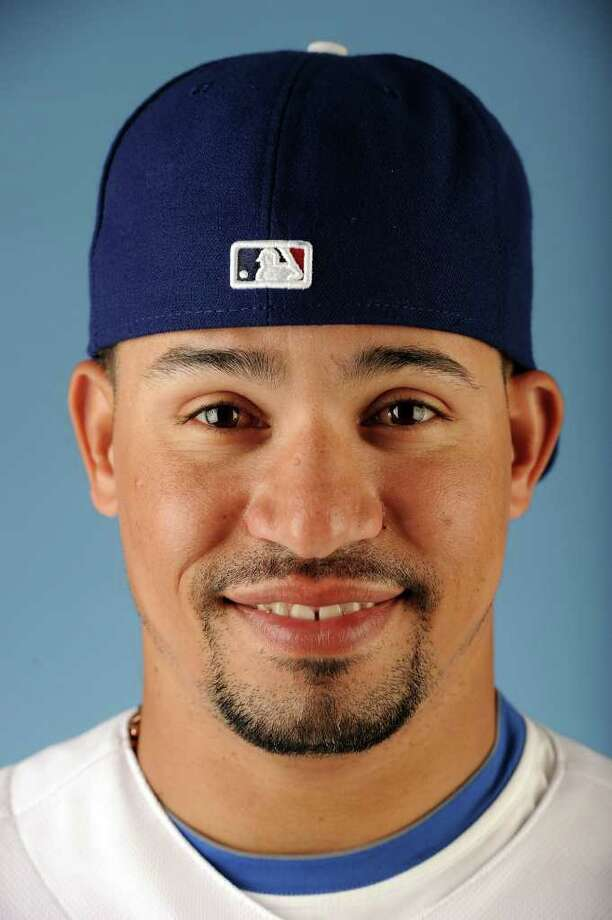 GLENDALE, AZ - FEBRUARY 25:  Rafael Furcal  #15 of the Los Angeles Dodgers poses for a photo on photo day at Camelback Ranch on February 25, 2011 in Glendale, Arizona.  (Photo by Harry How/Getty Images) Photo: Harry How / Getty Images North America