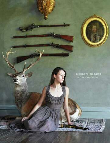 """Chicks with Guns"" is portrait photographer Lindsay McCrum's exploration of the powerful link between women and their firearms. Photo: Courtesy"