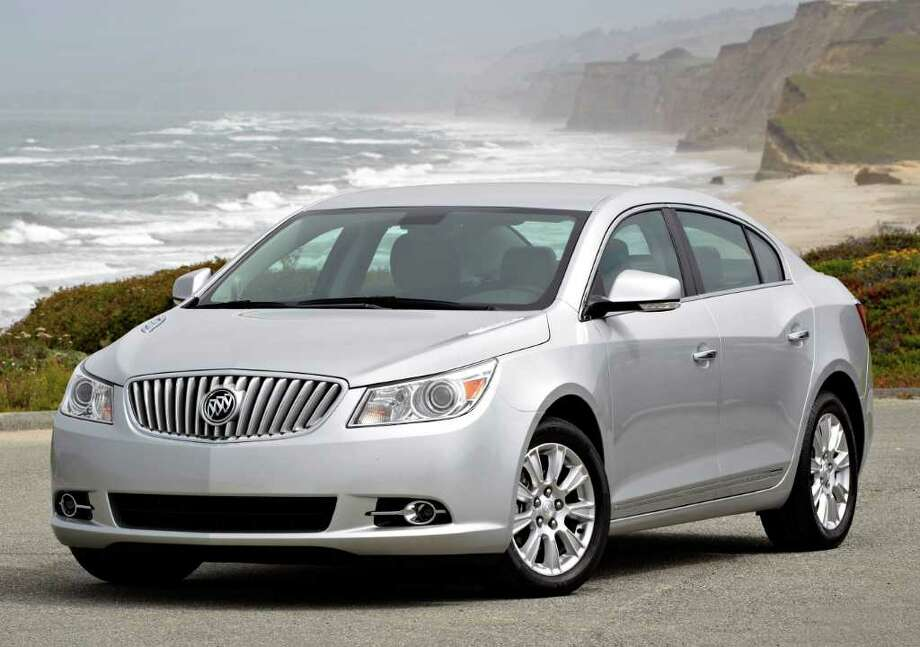 The 2012 Buick LaCrosse sedan is available with eAssist, a mild hybrid drive system that provides fuel economy ratings of 25 mpg city/36 highway. COURTESY OF GENERAL MOTORS CO. Photo: General Motors Co., COURTESY OF GENERAL MOTORS CO.