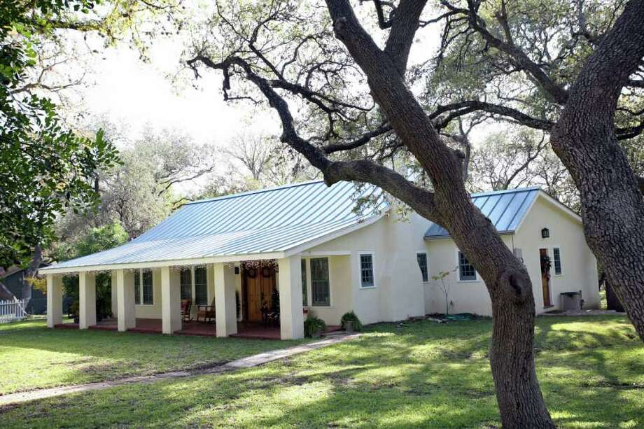 Add a durable metal roof. Photo: DANNY WARNER