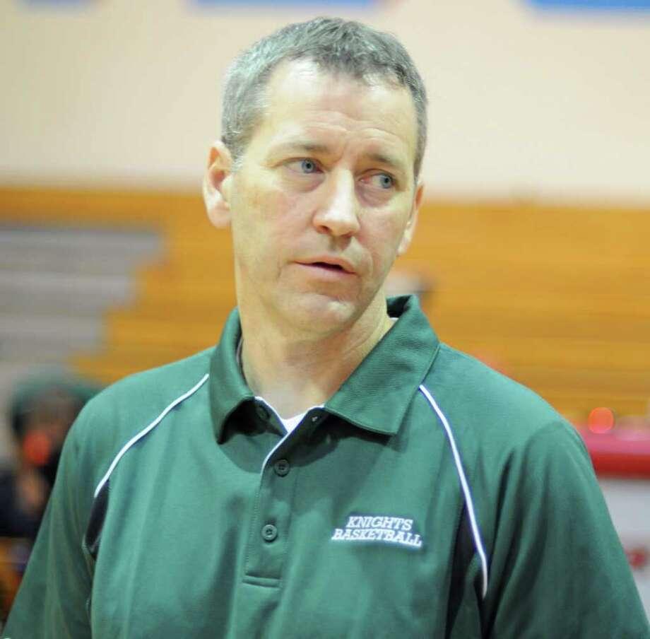 Clear Falls boys basketball coach Darren Chandler Photo: L. Scott Hainline / For The Chronicle