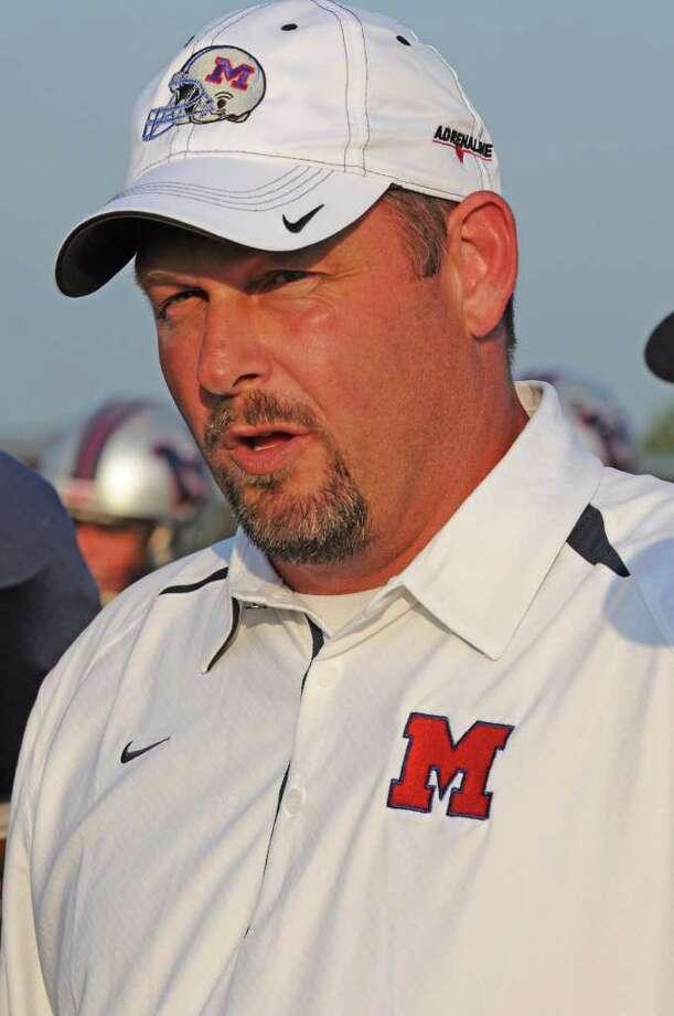 Manve head football coach Kirk Martin Photo: L. Scott Hainline / For The Chronicle