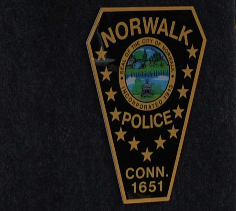 Norwalk cop charged with disorderly conduct. Photo: Contributed Photo