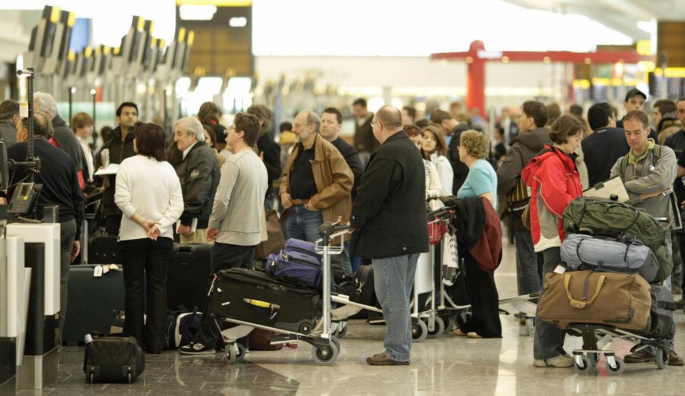 Голый мужчина беспрепятственно прошёл на рейс Москва-Крым