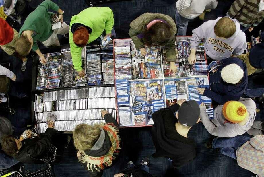5. Music and movies - 1,597 deals Photo: Mark Humphrey / AP