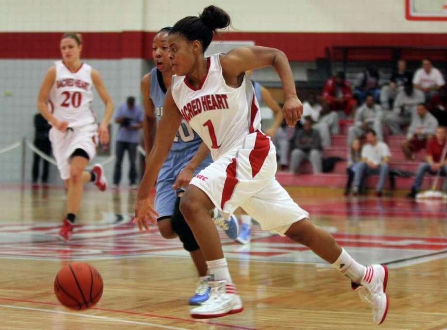 SHU Women's Basketball defeats Columbia Photo: Stan Godlewski