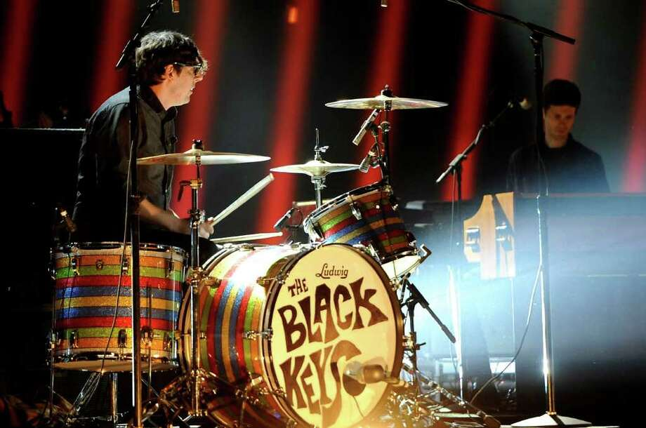 The Black Keys perform at Spike TV's Video Game Awards on Saturday, Dec. 10, 2011, in Culver City, Calif. (AP Photo/Chris Pizzello) Photo: Chris Pizzello