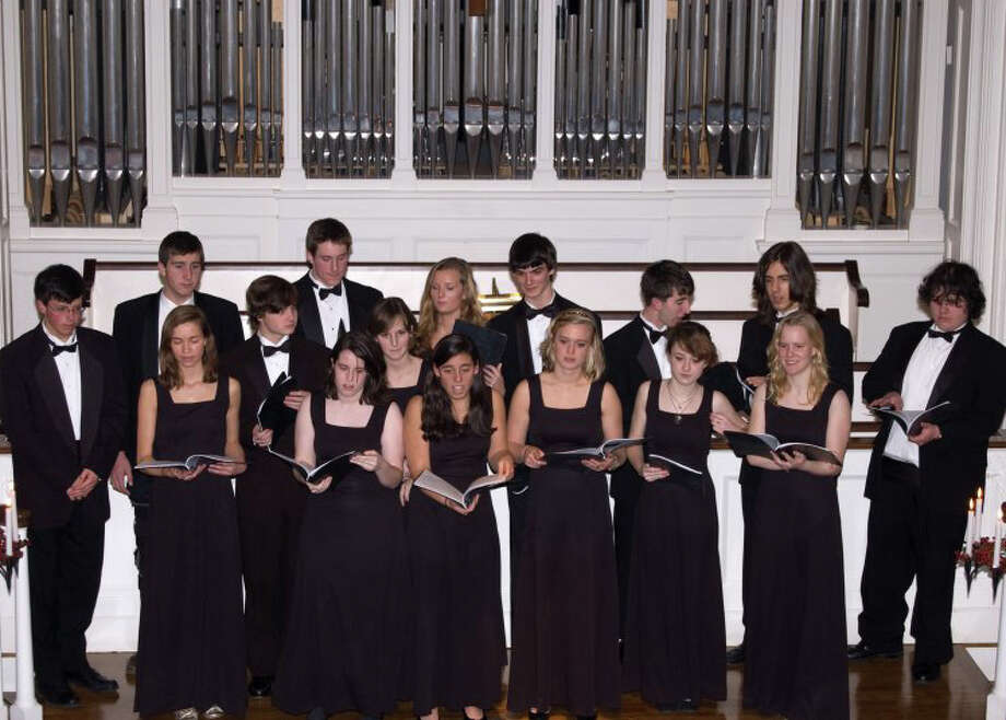 The Darien High School Tudor Singers will headline at the First Congregational Churchís annual Candlelight Concert on Saturday, Dec. 18 at 7 p.m. Photo: Contributed Photo