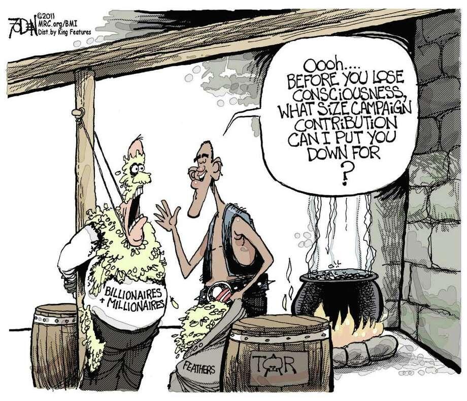 Editorial cartoon by Glenn Foden.
