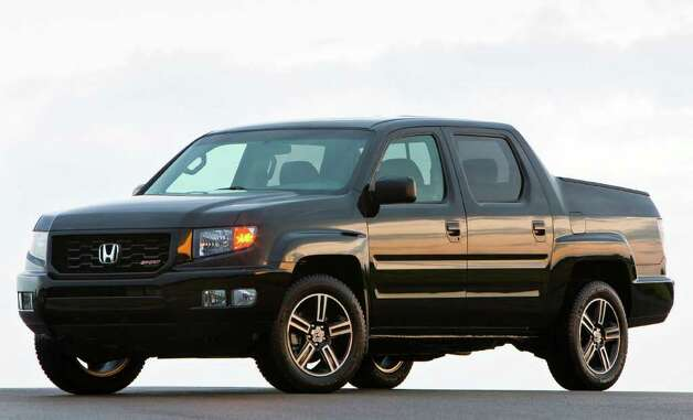 For 2012, Honda has added this new Sport model to the lineup of the Ridgeline pickup, which is built on the same architecture as the Pilot crossover. COURTESY OF AMERICAN HONDA MOTOR CO. Photo: American Honda Motor Co., COURTESY OF AMERICAN HONDA MOTOR CO. / Honda