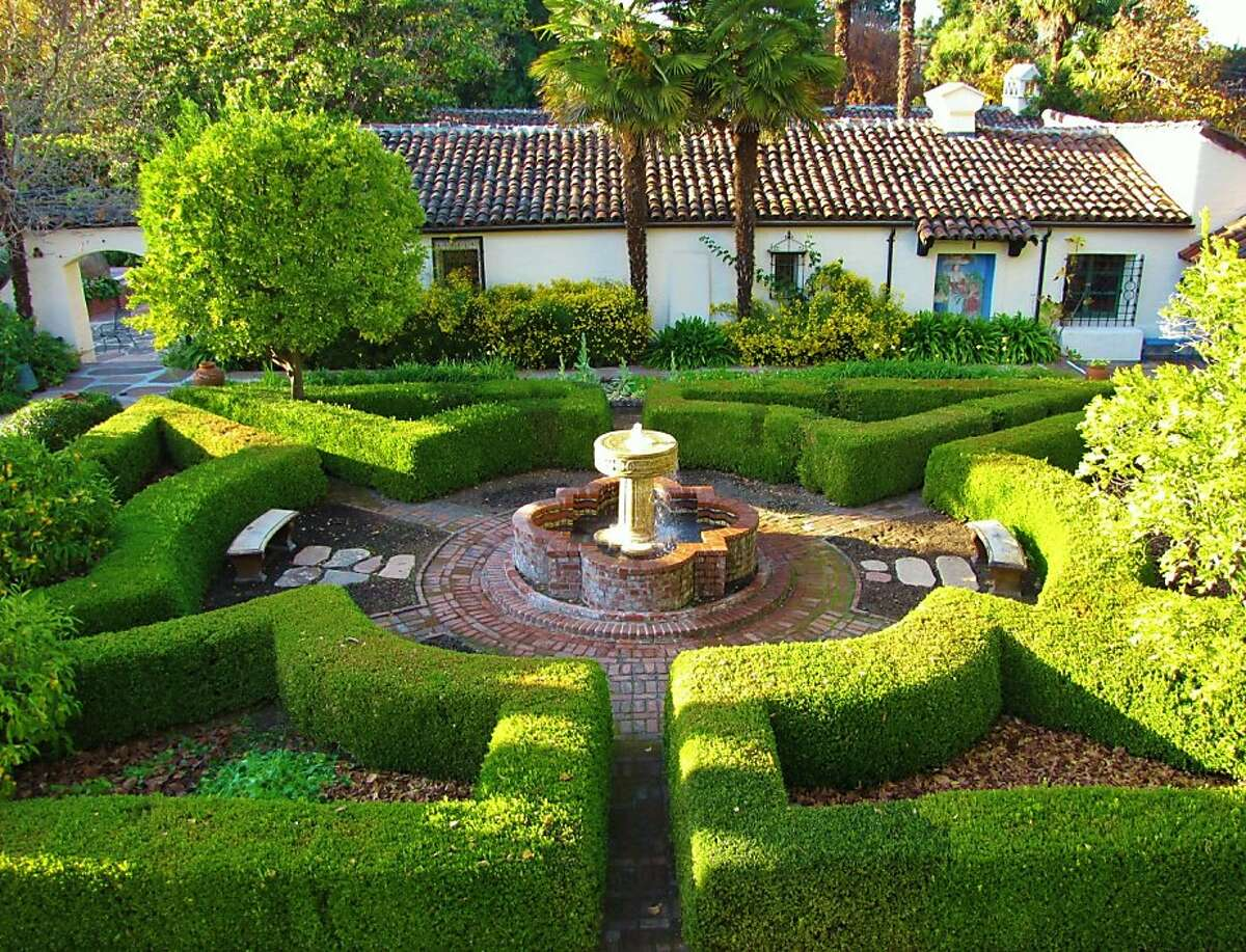 Allied Arts Guild gardens are inspired by those found in Spain.