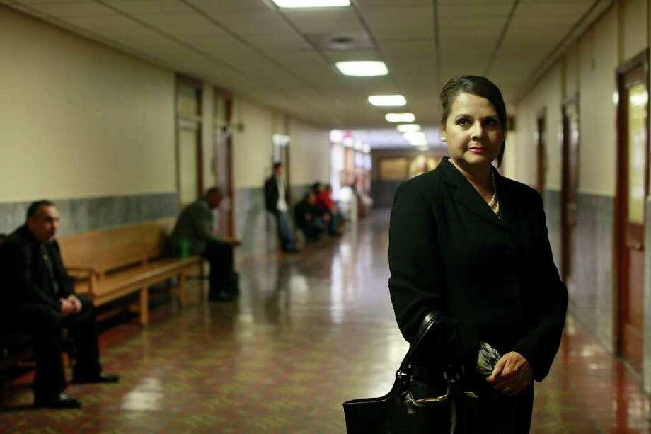 Hilda Valadez: She's known for taking many indigent cases. Photo: LISA KRANTZ, SAN ANTONIO EXPRESS-NEWS / SAN ANTONIO EXPRESS-NEWS