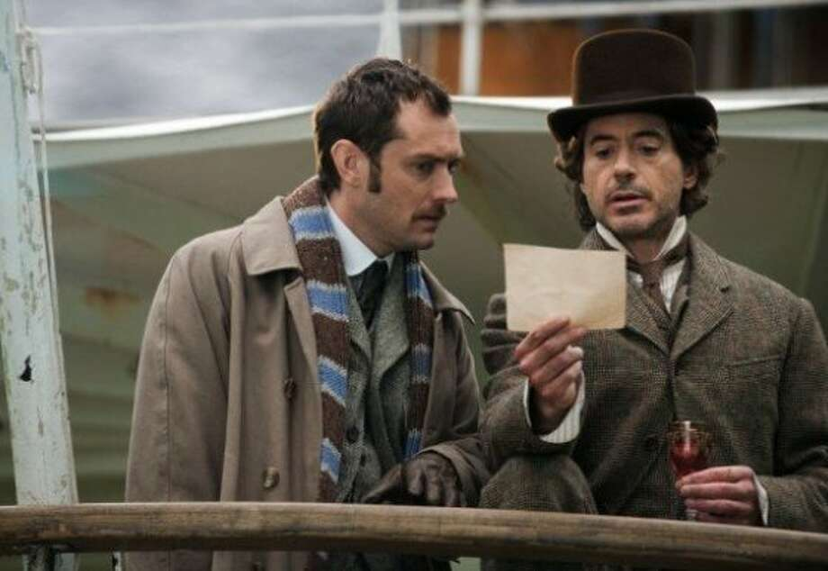 "Jude Law and Robert Downey Jr. star in ""Sherlock Holmes: A Game of Shadows,"" opening Friday at Bay Area theaters. (Dec. 16, 2011) Photo: Warner Bros."