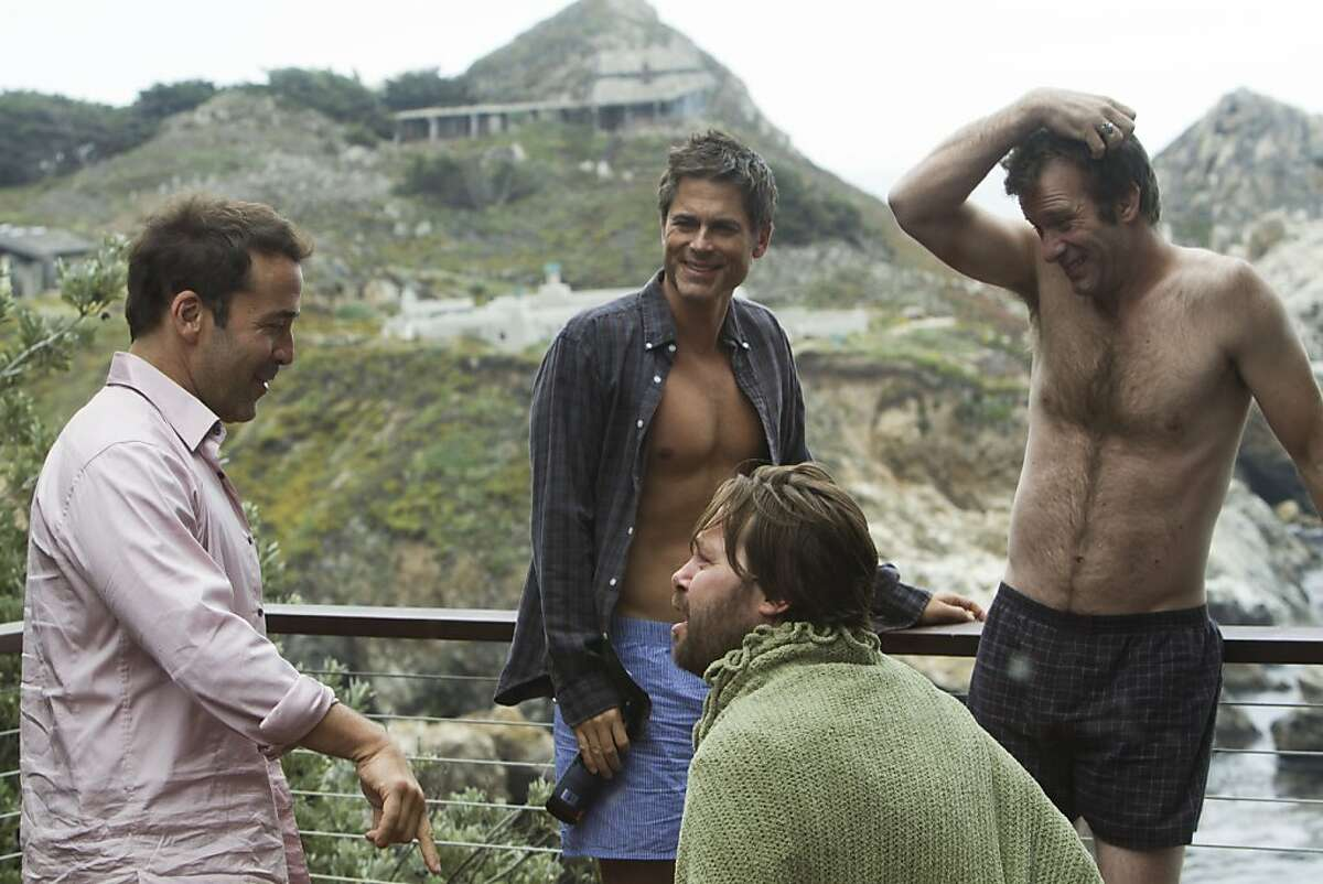 Jeremy Piven, Rob Lowe, Christian McKay and Thomas Jane in I MELT WITH YOU, a Magnolia Pictures release. Photo courtesy of Magnolia Pictures.