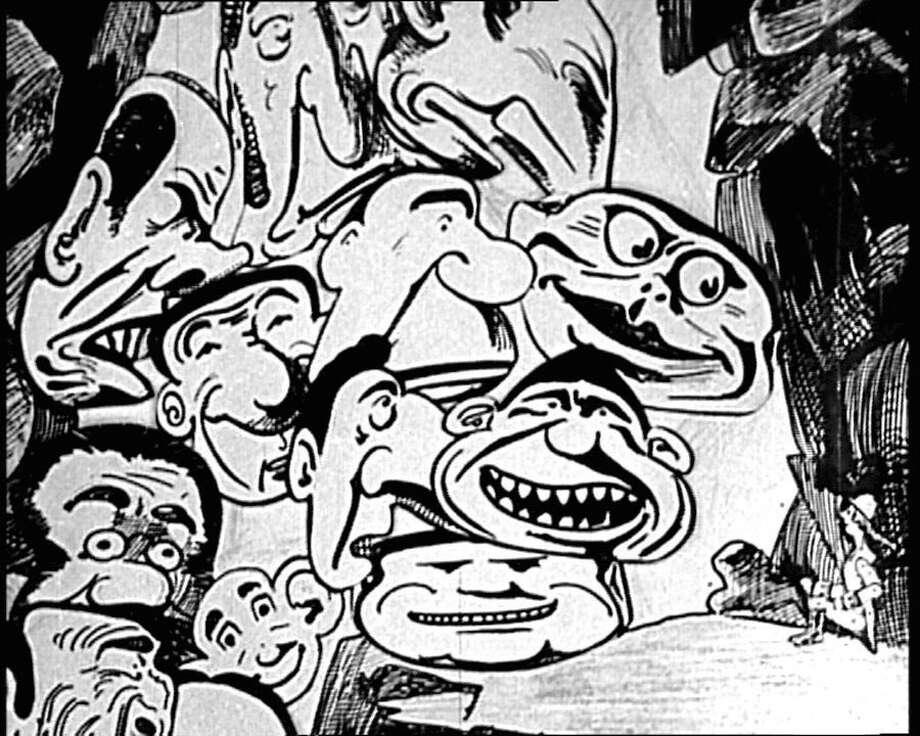 "The animated film ""Mr. Crack"" is part of the ""Gaumont Treasures Vol. 2"" DVD set. Photo: Kino International"