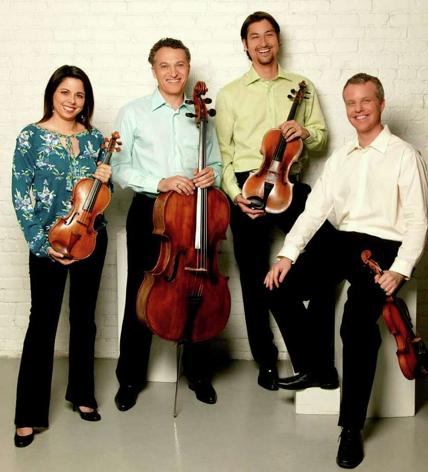 The Pacifica Quartet will perform Jan. 8 at the Quick Center. Photo: Contributed Photo