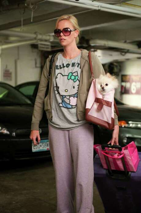 PARAMOUNT PICTURES  TROUBLEMAKER: Mavis (Charlize Theron) is on a mission to break up her ex-boyfriend's marriage in Young  Adult. Photo: Paramount Pictures