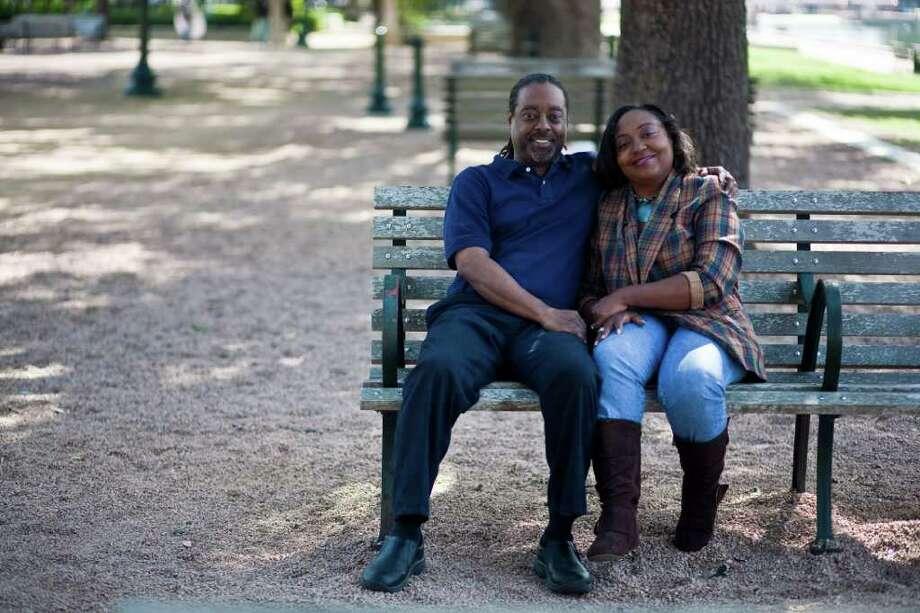 Josette and Darryl Hubbard Nov. 5, 2011 in Houston. (Eric Kayne/For the Chronicle) Photo: Eric Kayne / © 2011 Eric Kayne