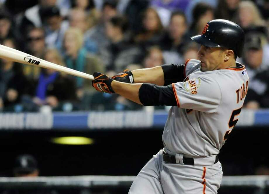 JACK DEMPSEY : ASSOCIATED PRESS concentration: Andres Torres, who won a World Series with the San Francisco Giants in 2010, is the subject of a new documentary about ADHD. Photo: Jack Dempsey / AP2011