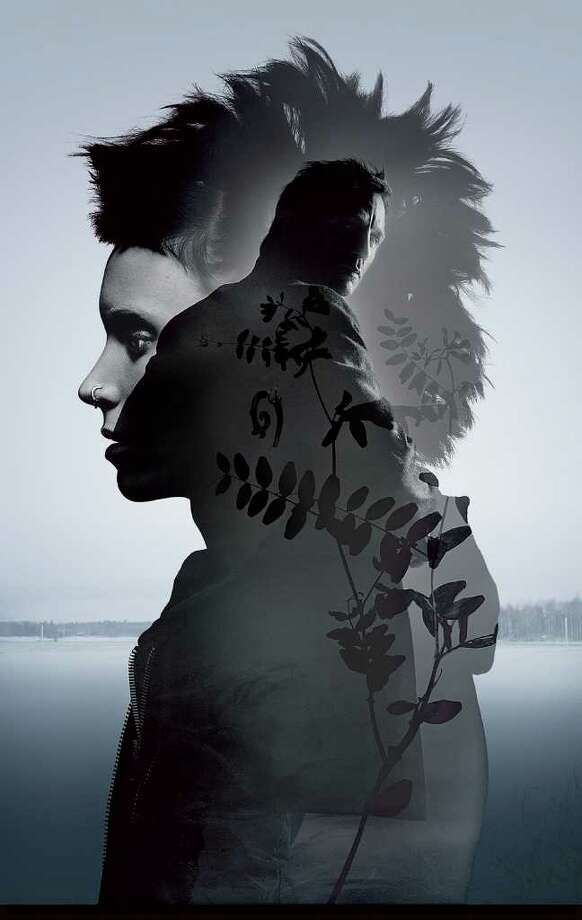 Advertising art for THE GIRL WITH THE DRAGON TATTOO. Photo: Sony Pictures