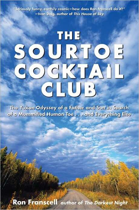 Book cover for The Sourtoe Cocktail Club, by Ron Franscell Photo: Xx
