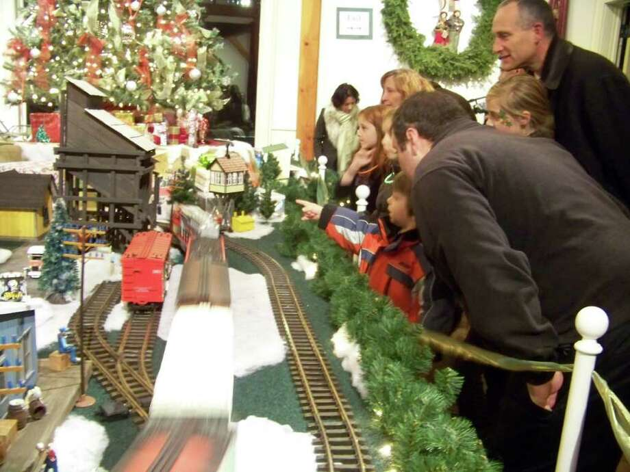 During holiday vacation week, the Fairfield Museum and History Center will offer several activities for children and their parents in conjunction with its current exhibit, Holiday Express Train Show. Photo: Contributed Photo