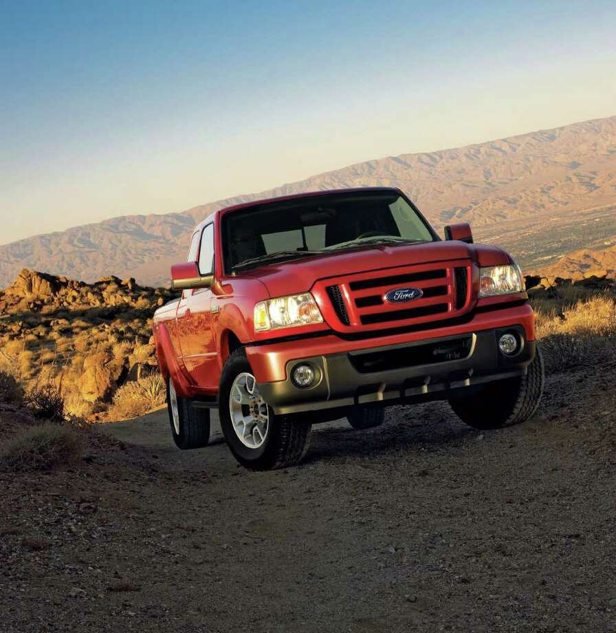 ASSOCIATED PRESS/FORD MOTOR CO. LONELY RANGER: The 2011 Ranger will be the last produced by Ford. The company plans to end production of the Ranger pickup, which it introduced in 1982 to compete with small pickups from Japan. Ford says demand for small pickups like the Ranger have fallen for a decade. But most of Ford's big rivals say they remain committed to the market. / © 2010 Ford Motor Company