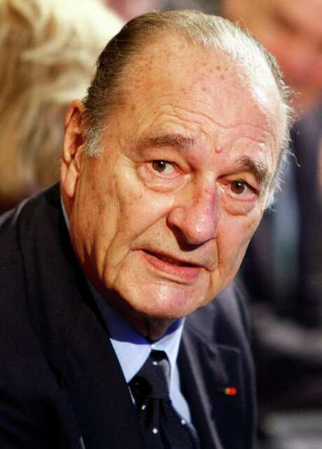 FILE -  This Thursday Nov. 24, 2011 file photo shows former French President Jacques Chirac  attending a ceremony awarding laureates of the Fondation Chirac at Quai Branly Museum in Paris.  A French court found former President Jacques Chirac guilty in a historic verdict Thursday Dec. 15, 2011 of embezzling public funds to illegally finance the conservative party he long led, and handed him a suspended prison sentence. Chirac, a savvy world diplomat and icon of France's political establishment for decades, is the first former French head of state to face prosecution since the World War II era.  (AP Photo/Francois Mori) Photo: Francois Mori / AP