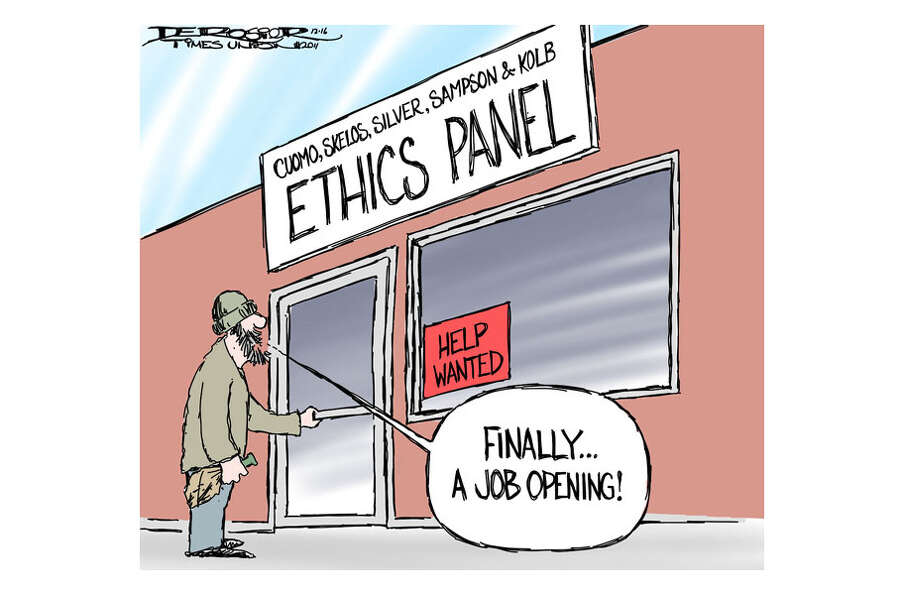 Ethics panel has trouble attracting good people.