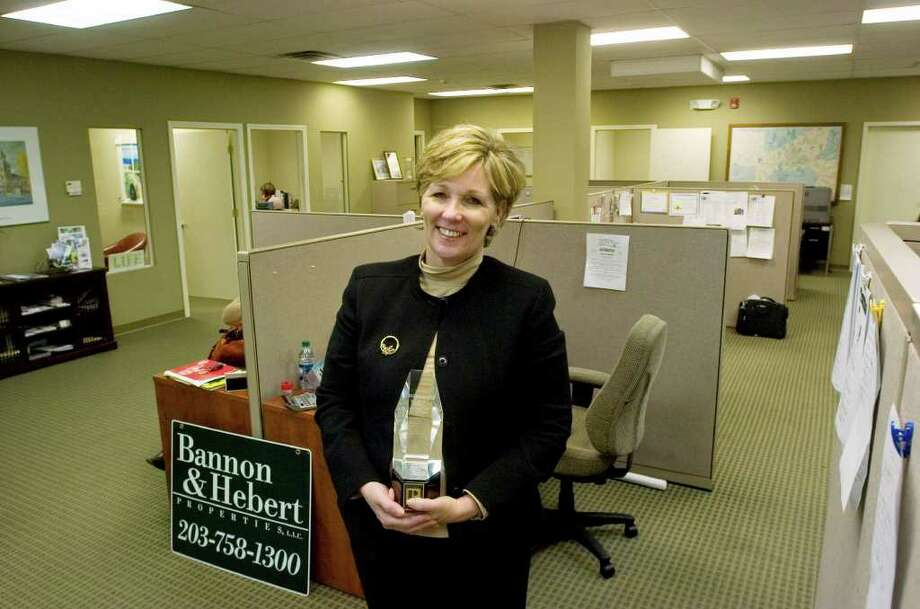Mary Ann Hebert, of Southbury, was recognized as the 2011 State Realtor of the Year by the Connecticut Association of Realtors Inc. at the CAR Leadership Conference in East Hartford on Nov. 29. Photographed Thursday, Dec. 15, 2011. Hebert is a real estate broker and partner at Bannon & Hebert Properties LLC in Middlebury. Photo: Jason Rearick / The News-Times