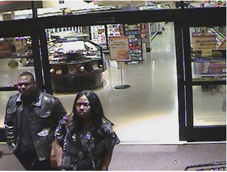 These suspects are wanted in several thefts of wine and champagne in the Houston area. Photo: Handout