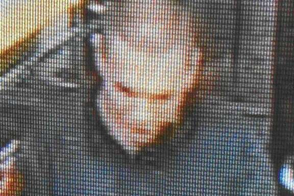 Police on Friday released the suspect's image, apparently captured from surveillance footage.