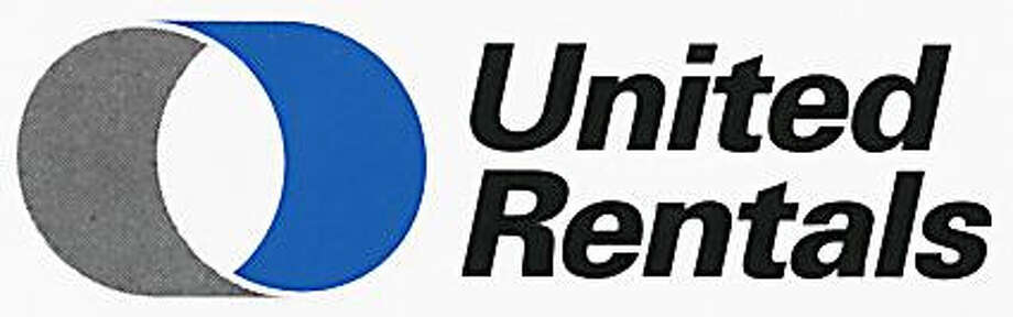 United Rentals' logo. The company on Friday agreed to buy rival equipment rental company RSC Holdings for $1.9 billion. Photo: ST