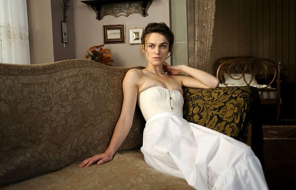 "Keira Knightley as Sabina Spielrein in, ""A Dangerous Method."""