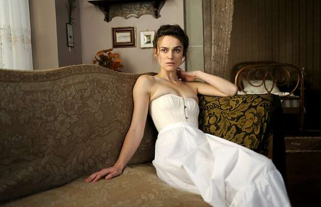 "Keira Knightley as Sabina Spielrein in, ""A Dangerous Method."" Photo: Liam Daniel, Sony Pictures Classics"