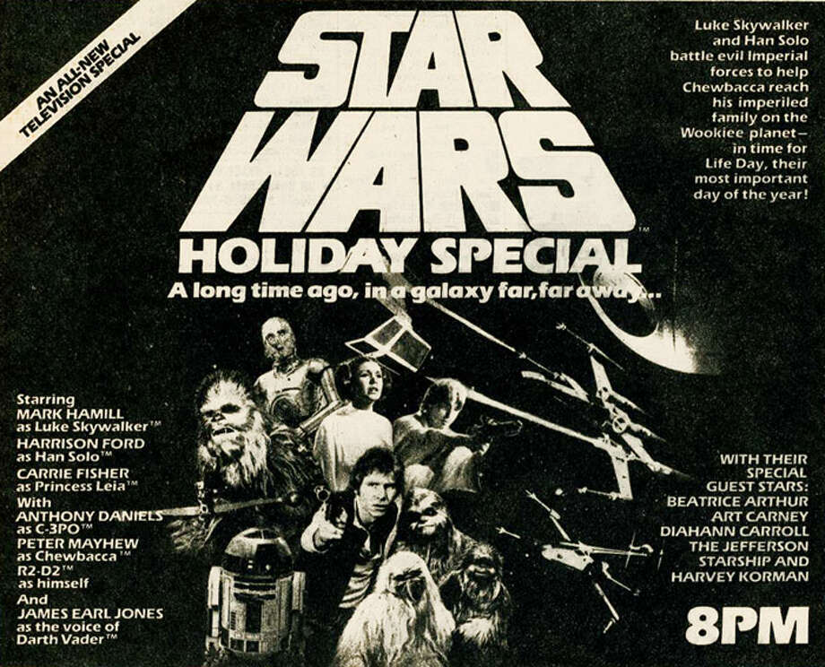 "Promotional poster for ""Star Wars Holiday Special"" Photo: CBS"