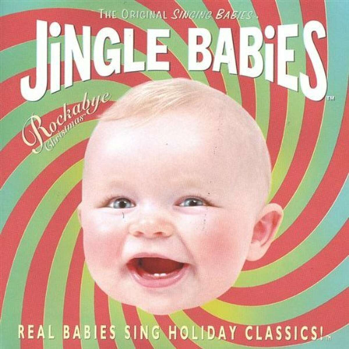 "Cover of ""Jingle Babies"" album"