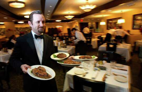 Morton's The Steakhouse, 300 E. Crockett Street, 210-228-0700, is offering its regular a la carte menu as well as a steak and lobster special, $49.95, Feb. 13-16. Photo: Cody Duty, Houston Chronicle / © 2011 Houston Chronicle