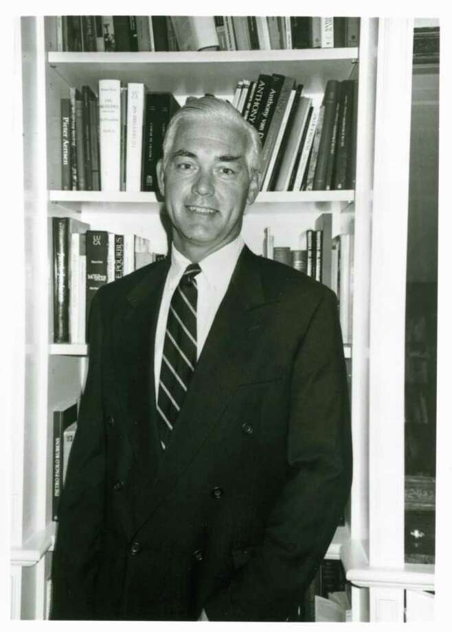 Bruce Museum Executive Director Peter C. Sutton is shown in a file photo soon after being hired in 2001. Photo: Contributed Photo
