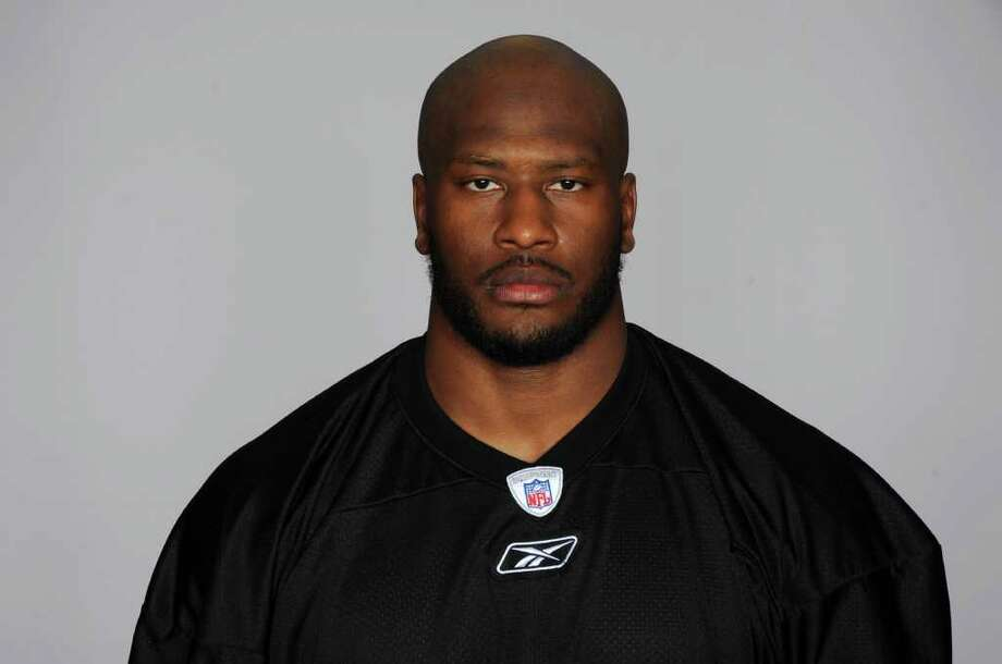 This is a 2010 photo of James Harrison of the Pittsburgh Steelers NFL football team. This image reflects the Pittsburgh Steelers active roster as of Monday, May 3, 2010 when this image was taken. (AP Photo) Photo: Anonymous / NFLPV AP