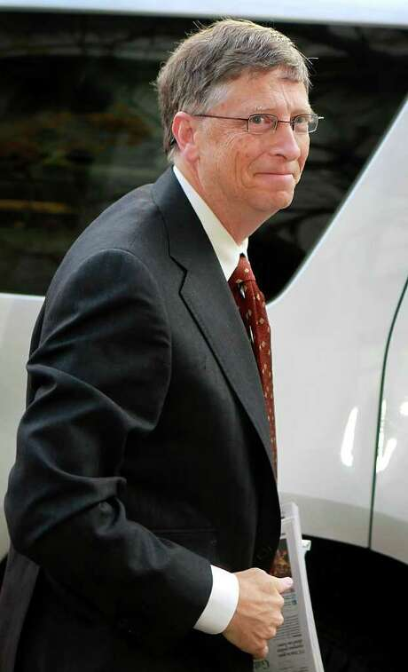 Bill Gates, chairman of Microsoft Corp., arrives at federal court in Salt Lake City, Utah, U.S., on Tuesday, Nov. 22, 2011. Gates faced more cross-examination on allegations that the world's largest software maker undermined Novell Inc.'s WordPerfect program. Photographer: George Frey/Bloomberg *** Local Caption *** Bill Gates Photo: George Frey / © 2011 Bloomberg Finance LP