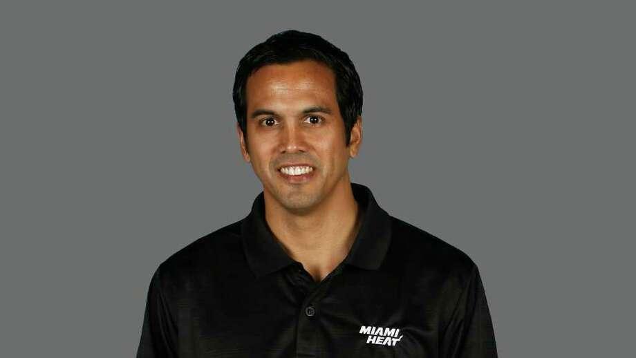 Erik Spoelstra Miami Heat head coach  2010 NBA photo