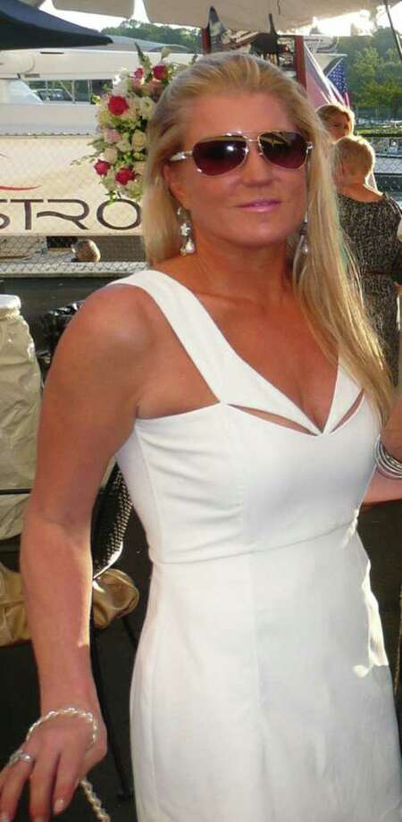 Tina Pray attending the preview party for the Greenwich Harbor Yacht Showcase benefit for Audubon Greenwich. Photo: File Photo